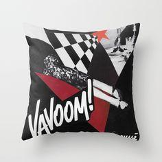 Vavoom Throw Pillow