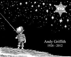 A tribute to Andy Griffith from Kevin Siers in The Charlotte Observer.