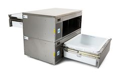 Adande VCM2.RT Double Drawer Pass Through Refrigeration Unit with Roller and Cover Top