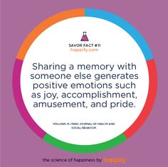 Great Moments? Share Your Experiences for Greater Joy