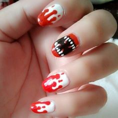 my nail for halloween.
