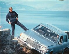 """W 116 - Roger Moore in """"For Your Eyes Only"""" (1981)"""