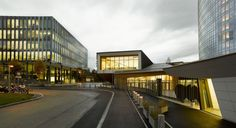 New Conference Hall for the World Intellectual Property Organization / Behnisch Architekten