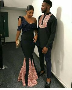 African dresses for couples, african outfits for couples, african couple outfits African Prom Dresses, Latest African Fashion Dresses, African Print Fashion, Africa Fashion, African Prints, Ghana Fashion, Ankara Fashion, African Fabric, Fashion Men