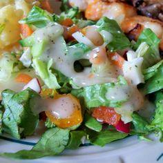 Vinaigrette, Salad Dressing Recipes, Rice Vinegar, C'est Bon, Caprese Salad, Allrecipes, Big Salads, Veggies, Vegetarian