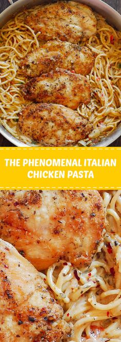 The Phenomenal Italian Chicken Pasta | With only 30 minutes of total work, this dinner recipe is simple, fast and delicious! It almost sounds too easy to be as good as it is. #italian #chicken #pasta | womanpedia.co