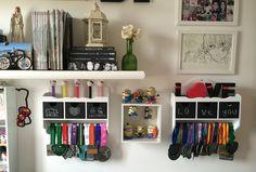 Meu porta medalhas | http://flaviakitty.com/blog/2014/07/meu-porta-medalhas/