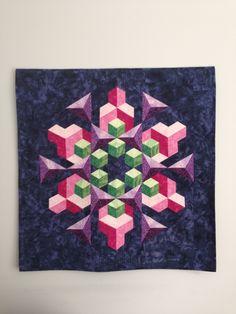 Geometric 3d quilt