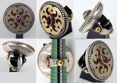 5615:1144 Ring Central Asia Ring Bracelet, Bracelet Watch, Bracelets, Jewelry Rings, Jewelery, Sterling Silver Jewelry, Silver Jewellery, Ancient Jewelry, Tribal Jewelry