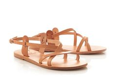 Can't get enough of these -Myrtis Greek sandals