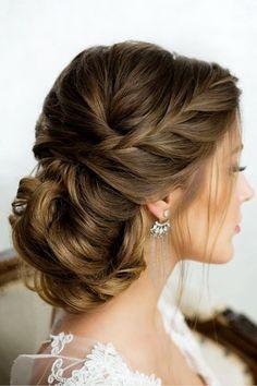Wedding UpDo Hair Ideas for bridal hair or bridesmaids hair