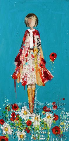 Paintings by Kim Schuessler