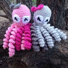 These popular crochet Octopus are my absolute favorite to make..... SO many different color combo options!