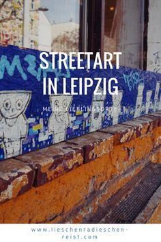In Leipzig gibt es coole Streetart, die ich dir natürlich nicht vorenthalten möchte. Entdecke mit mir meine Lieblingsorte in Leipzig.