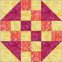 nine patches & half square triangles