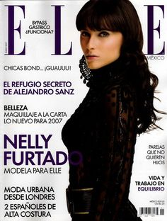 Magazin Covers, Elle Mexico, Nelly Furtado, Mermaid Hair, Ethereal, Style Icons, Fashion Art, Something To Do, That Look