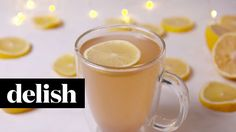 The Perfect Detox Lemonade To Battle Holiday Bloat | Delish Video on Yummly