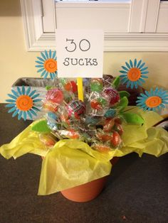30th birthday gift idea - this is so cute! Will definitely make them smile :)