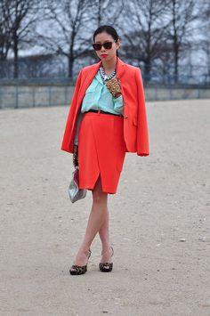 Гости Парижской недели моды FW13, часть 2. Изображение №5.
