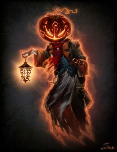 ArtStation - Halloweem Pumpkin Guy, Vera Velichko