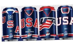 Labatt USA Hockey Cans Now Available in Some States.Ok this is awesome! Team Usa Hockey, Olympic Hockey, Ice Hockey Teams, Blackhawks Hockey, Hockey Goalie, Boston Bruins Goalies, Hockey Cakes, Canadian Beer, Ale