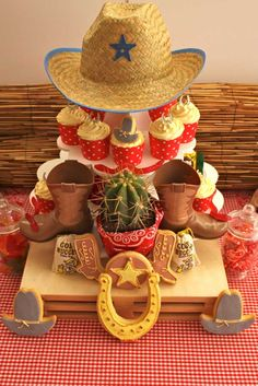 Paisley Cowboy Birthday Party Feature