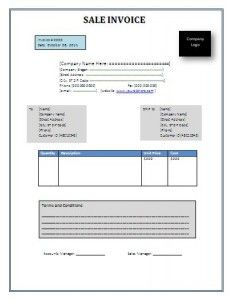 Download Invoice Template For Word Invoice Template Places To - Invoice template in word