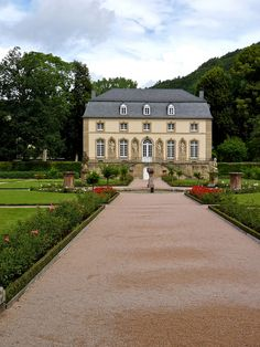 Orangerie, Echternach, Luxembourg. We met the man who does the gardens, he was ever so friendly and told us about the place, and what else to see in Echternach.