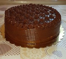 Croatian Recipes, Tasty, Yummy Food, Best Cake Recipes, Sweets Cake, Sweet Desserts, Yummy Cakes, Chocolate Cake, Food And Drink