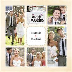 carte de remerciements de mariage lune de miel personnaliser sur http - Remerciement Mariage Personne Absente