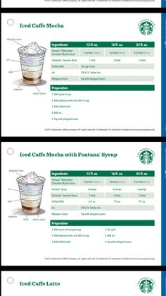 You are in the right place about coffee drink breakfast Here we offer you the most beautiful picture Iced Starbucks Drinks, Starbucks Hacks, Starbucks Recipes, Coffee Barista, Coffee Menu, Coffee Type, Whipped Cream Ingredients, Coffee Ingredients, Coffee Drink Recipes