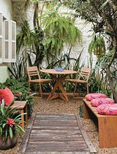 Pequeños patios y jardines