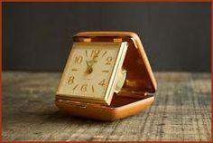 Vintage travel clock - my parents had this exact one Nate Berkus, My Childhood Memories, Sweet Memories, Retro, Non Plus Ultra, Travel Alarm Clock, Alarm Clocks, Ol Days, My Memory