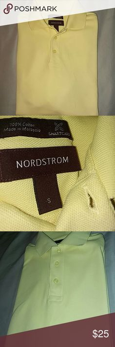 Nordstrom Polo Shirt Yellow Nordstorm Polo Shirt . Brand New Without Tags ! Size small! Color is vibrant and beautiful for the spring ! Nordstrom Shirts Polos