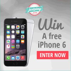 Win an iPhone 6 from JustPlay South Africa - The Product Fundi Free Iphone 6, South Africa