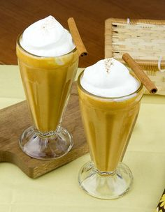 Pumpkin Pie Protein Smoothie / @DJ Foodie / DJFoodie.com