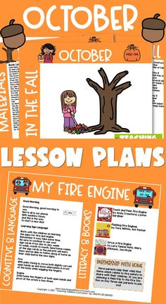 Toddlers Curriculum for October