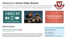 Vimeo Video School Offers Free Tutorials to Help Improve Your Video Skills