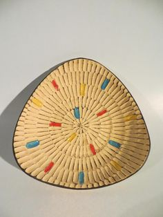 50er Jahre Keramik Schale von BAY KERAMIK Dekor SAAR - hübsch!