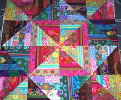 Kaffe Fassett DESIGN JellyRoll 29 Strips Quilt Kit by SweetRiver