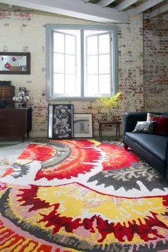 Easton Pearson: Cosmic Garden - Rug Collections - Designer Rugs - Premium Handmade rugs by Australia's leading rug company Interior Design Boards, Contemporary Interior Design, Contemporary Architecture, Home Decor Trends, Home Decor Styles, Decor Ideas, Textiles, European Home Decor, Traditional Decor