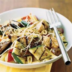 Lea Black created this recipe to satisfy a late-pregnancy craving for grilled chicken and pasta. Prep and Cook Time: about 1 hour, plus...