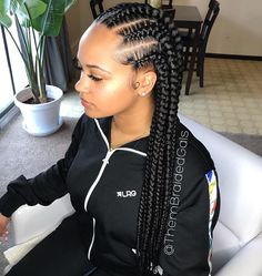 braided hairstyles braid hairstyles hairstyles ponytails hairstyles nigeria updo hairstyles african american hairstyles for 8 year olds hairstyles black women hairstyles lines Box Braids Hairstyles, Shaved Side Hairstyles, Braided Hairstyles For Black Women, Baddie Hairstyles, Braids For Black Hair, Girl Hairstyles, Braids For Black Women Cornrows, Cornrows With Box Braids, Hairstyles Games