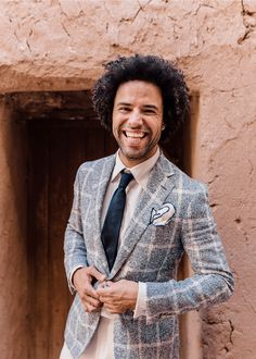 Engaged // The Moroccan dream in Ait Ben Haddou Jamie Lee, Double Breasted Suit, Moroccan, Suit Jacket, Blazer, Suits, Jackets, Men, Weddings