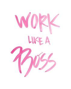 Work like a boss www.lularoejilldomme.com