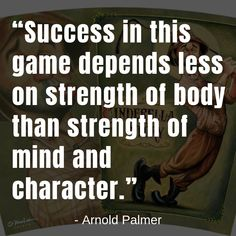 golf quotes about hard work Kids Golf, Play Golf, Arnold Palmer Golf, Jack Nicklaus, Golf Club Sets, Four Letter Words, Perfect Golf, Club Design, New Golf