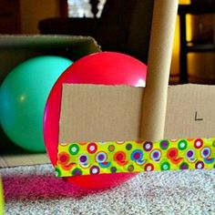 Balloon Hockey --- Can be done with pool noodles --- Worked well with high functioning kids