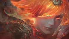 Elementalist Lux Fire Art Wallpaper