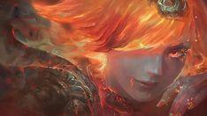 Elementalist Lux Fire Art Wallpaper