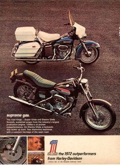 Shovelheads! Too bad AMC ruined them. However, AMC also kept Harley Davidson alive.